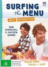 Surfing The Menu - Next Generation (DVD, 2016, 2-Disc Set) (D163/D167/D170)