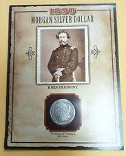 1890-S MORGAN SILVER DOLLAR JOHN FREMONT COIN & STAMP L148