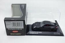 Minichamps 1:43 Porsche 911 GT3 RSR Homologation in Black for Kyosho