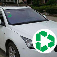 5'' Green Recycle Recycling Logo Symbol Adhesive Vinyl Car Truck Decal Sticker