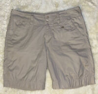 Womens Columbia Shorts Size 6 Khaki Hiking Outdoors Beach