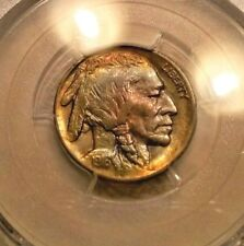 1916  BUFFALO NICKEL XF45  PCGS   MONSTER TONED BOTH SIDES !
