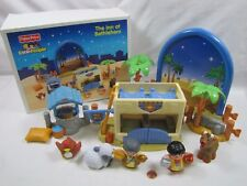 Fisher Price Little People CHRISTMAS NATIVITY THE INN AT BETHLEHEM KEEPER Box