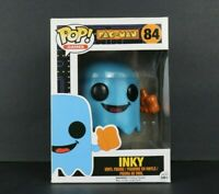 Funko Pop Games Pac Man Inky 84 Soft Protector Box Damage