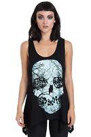 Jawbreaker Forest Skull Moonlight Gothic Nugoth Punk Sleeveless Tank Top Vest