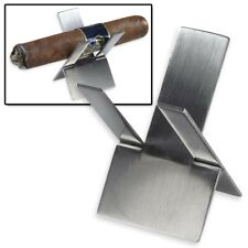 Stainless Steel Foldable Pocket Cigar Holder Stand Perfect for the Course CH-290