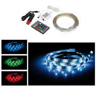 LED RGB Auto Lichtleiste Innenraumbeleuchtung Ambientebeleuchtung 200cm