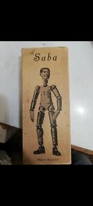 Saba Bucherer Figure Doll Vintage Switzerland toy  Rare