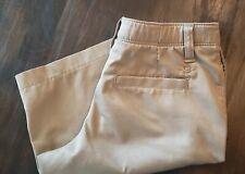 Boys Under Armour Khaki Heat Gear Shorts Size 10