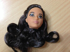 Barbie Model Muse The Look Pool Chic Brunette Karl Mackie Face AA Doll's Head