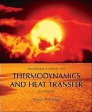 Introduction to Thermodynamics and Heat Transfer by Yunus A. Cengel (2007, CD...