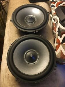 "PAIR Alpine SPR-17S Type R 6.5"" Component Car Speakers 350W USED Working 100%"