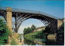 Shropshire: The World's First Iron Bridge (1779), Ironbridge - Unposted c.1980's