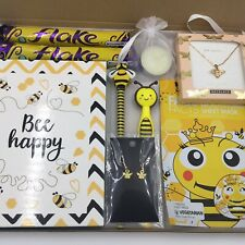 Women's Valentines Gift Hamper Bee Happy Birthday Mum Wife Daughter Sister Gran
