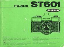 Fuji Fujica ST601 Instruction Manual original multi-language