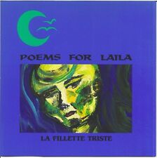 POEMS FOR LAILA / LA FILLETTE TRISTE * NEW CD * NEU *
