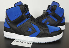 CONVERSE WEAPON MID BLACK ROYAL BLUE AJ1 JORDAN 1 RARE QS NEW 150526C (SIZE 9)