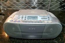 Sony Cfd-S01 Cd Radio Cassette player Boombox stereo