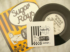 SUGAR RAYS EP OUTTA THE GARAGE wahey 006 with sticker.......... 45rpm