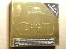 KARAJAN  -  GOLD  -  3 CD DEUTSCHE GRAMMOPHON DIGIPACK  NUOVO E SIGILLATO