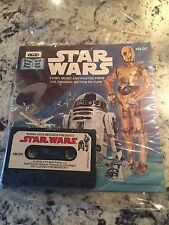 STAR WARS BOOK AND TAPE *USED*