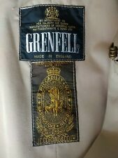 Grenfell Trench Coat Cordings Of Piccadilly size 44 made in England