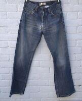 Levis 567 Blank Red Tab Vintage Loose Bootcut Midwash Jeans W30 L32
