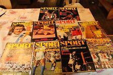 Lot de 10 magazines LE SPORT ET SON POSTER DU 35 AU 44 de 1971 ( sans poster)