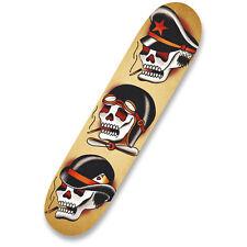 Three Hats Skulls Quality Skateboard Skate Deck Tattoo Artist Black Market Art