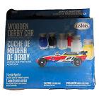 Wooden Derby Car Testor 308936 Acrylic Paint Set, 7 colors 1.5 fl. oz. total