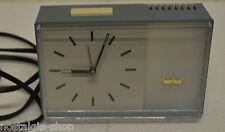 ORIG. 50er 60er stupendo orologio da tavolo Standuhr WESTCLOX Electric Orologio pastellblau Clock