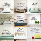 Bible Verse Wall Decal Sticker Word Vinyl Removable Quote Scripture Art Decor