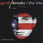 Garth Brooks The Hits Country CD Liberty Thunder Rolls Shameless The River