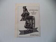 advertising Pubblicità 1939 WELTA WELTINI