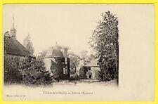 cpa RARE 53 - ALEXAIN (Mayenne) CHÂTEAU de la FEUILLÉE Ed. HAMEL-JALLIER et Cie
