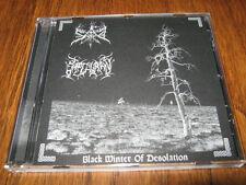 """SAD / SAPTHURAN """"Black Winter.."""" Split CD leviathan weakling"""