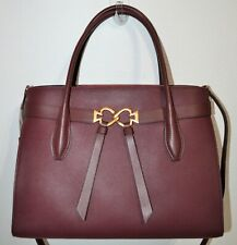 NWT Kate Spade Cherrywood LARGE Toujours Leather Satchel Purse Bag  PXRUB031