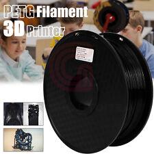 More details for petg filament 3d printer filament black 1.75mm tangle-free 1kg for 3d printers