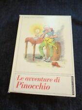 LE AVVENTURE DI PINOCCHIO COLLODI ILLUSTRAZIONI F. COMPAGNONI LABOR 1964 ANNI 60