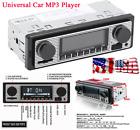 In-Dash Car Bluetooth Radio Music MP3 Player Stereo USB AUX Audio Remote Control