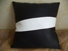 100% genuine leather pillow case, handmade, 16*16 inches