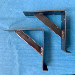 """WHOLESALE 10 x Heavy Duty Shelf Brackets Industrial Lip Design Very Strong 6"""""""