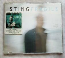 STING Fragle CD Singolo 2001 Desert Rose Fill Her Up Single