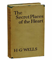 Secret Places of the Heart H.G. WELLS ~ First Edition 1922 ~ 1st ~ War of Worlds