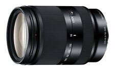 Sony high magnification zoom lens E 18200mm F3.56.3 OSS LE Sony E mount APSC onl