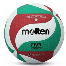 Molten Size 5 Official Volleyball v5m5000 Soft Indoor/Outdoor Game PU Leather