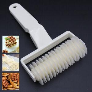 Lattice Roller Cutter Pizza Cookie Pie Bread Pastry Baking Kitchen Plastic Tool