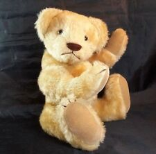 Vtg Bearly There Company Artist Bear Jointed Honey Humpback by Linda Spiegel 13""