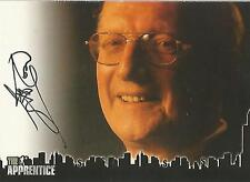 """The Apprentice - """"George Ross, Exec Vice President"""" Autograph Card"""