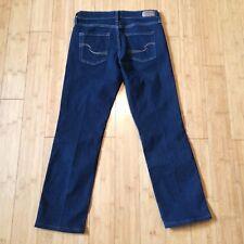 "Levi Signature Modern Straight Wmn's Jeans DK Blue size 6 Inseam 28.5""  EUC"